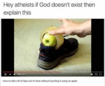 Hey Atheists, If God Doesn't Exist Then Why...