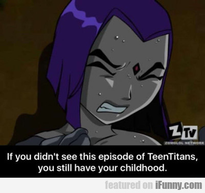 If You Didn't See The Episode Of Teen Titans...