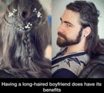 Having A Long-haired Boyfriend Does Have Benefits
