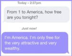 From 1 To America, How Free Are You Tonight?