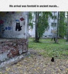 His Arrival Was Foretold In Ancient Murals...