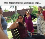 What Bbqs Are Like When You're 30 And Single...