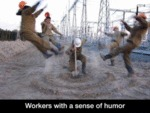 Workers With A High Sense Of Humor