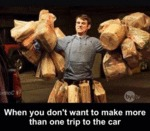When You Don't Want To Make More Than One Trip