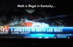 Math Is Illegal In Kentucky...