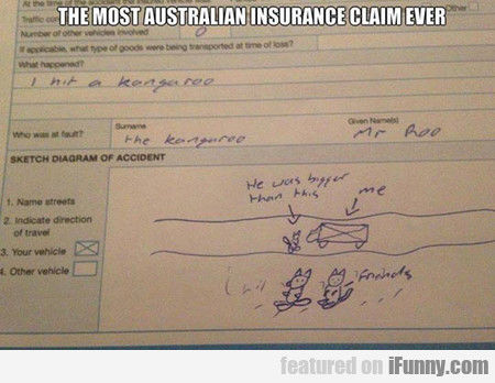 The Most Australian Insurance Claim Ever