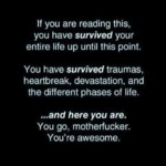 If You Are Reading This, You Have Survived