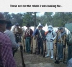 These Are Not The Rebels I Was Looking For...