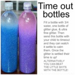 Time Out Bottles For Calming The Kids