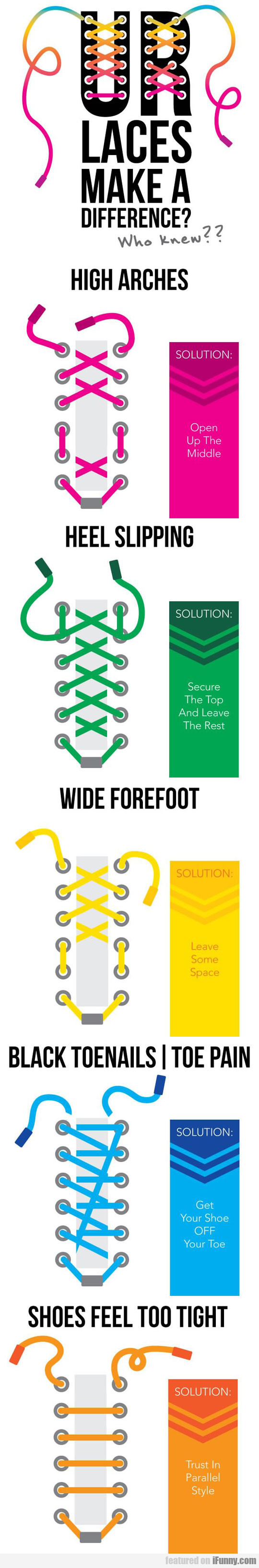 How To Lace Shoes