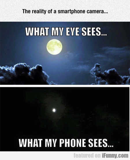 The Reality Of A Smartphone Camera...