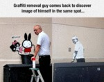 Graffiti Removal Guy Comes Back