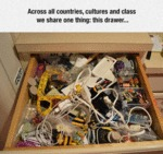 We All Share One Thing. This Drawer...