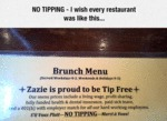 No Tipping - I Wish Every Restaurant Was Like This