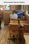 Wifi Too Expensive+ Head Over To Wendy's...