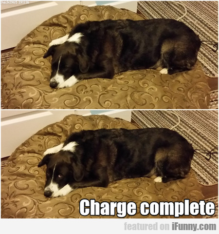 Charge Complete
