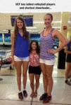 Ucf Two Tallest Volleyball Players