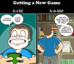 Getting A New Game - Kid Vs. Adult