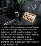 I Should Install Switches On My Car's Dash