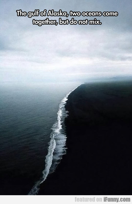 The gulf of Alaska, Two Oceans Come Together