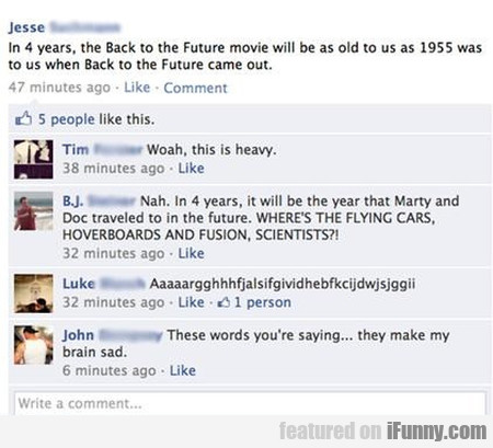 In 4 Years, The Back To The Future Movie Will Be A
