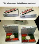 This Is How You Get Stabbed By Your Coworkers...
