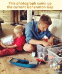 This Photograph Sums Up The Current Generation Gap