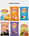 Terrible Chip Flavours...