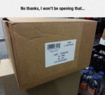 No Thanks, I Won't Be Opening That...