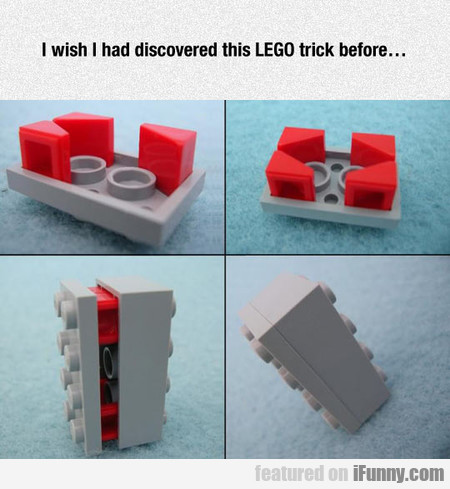 I Wish I Had Discovered This Lego Trick Before...