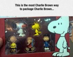 This Is The Most Charlie Brown Way To Package...