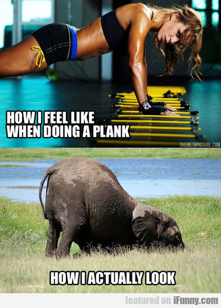 Every Time When Doing A Plank