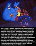 There's A Scene In Aladdin Where Genie Calls...
