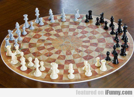 When You Thought Regular Chess Was Hard Enough