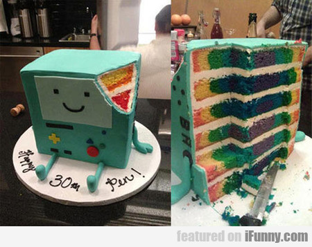 A Cake For True Game Boy Fans