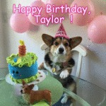 Happy Birthday, Taylor!