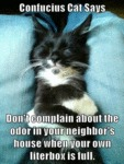 Don't Complain About The Odor In Your Neighbor's..