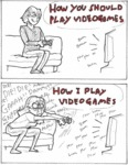When I Play Video Games