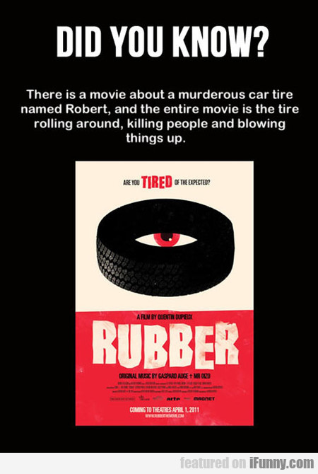 There Is A Movie About A Murderous Car Tire