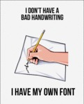 Bad Handwriting? No!