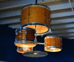 Drum Kit Chandelier, So Much Want