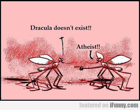 dracula doesn't exist