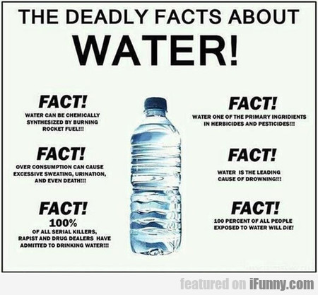 6 Deadly Facts About Water