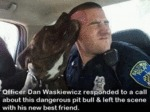 Officer Dan Waskiewicz Responded To A Call