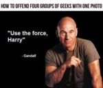 How To Offend Four Groups Of Geeks With One Photo