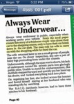 Always Wear Underwear In Public