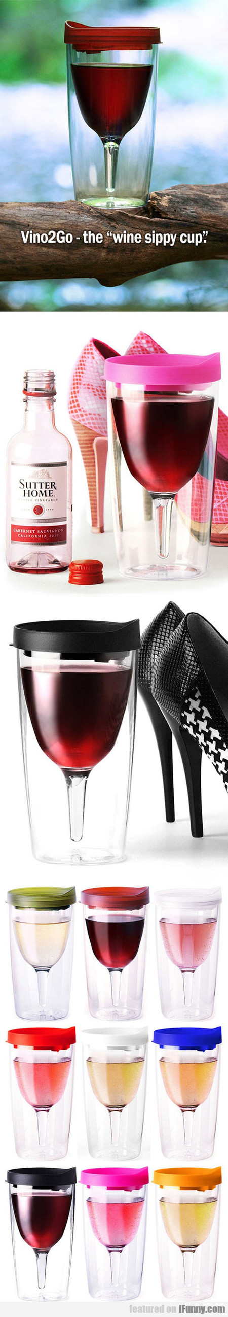 Vino2go - The Wine Sippy Cup