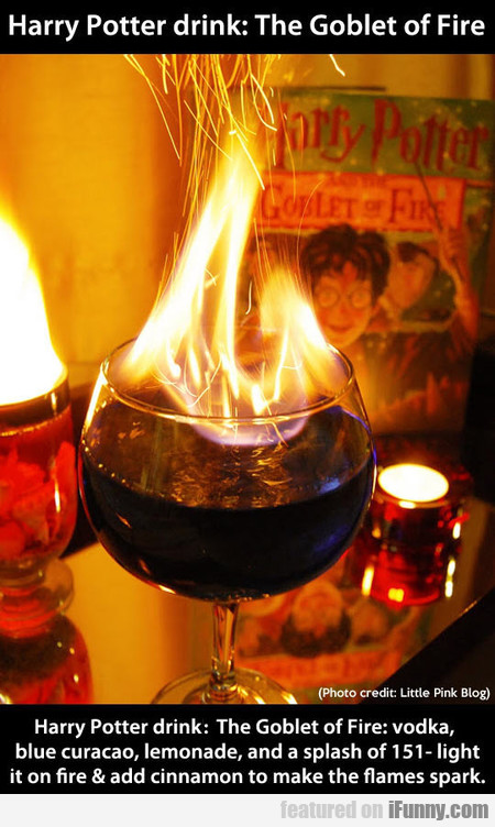 Harry Potter Drink - The Goblet Of Fire