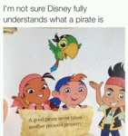 I'm Not Sure Disney Fully Understands What A Pirat