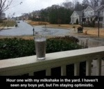 Hour One With My Milkshake In The Yard